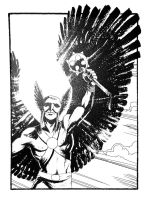 Commission - Hawkman by B3NN3TT