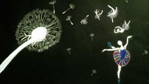 The Dance of The Dandelion Seeds by silvernightmares