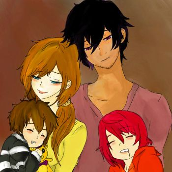 Happy Family ( Updated) Read below for more info by xDigitalArtGirlx