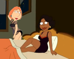 Family guy lois and donna by QTcomics