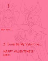 Z: Luna be my Valentine by SelTheQueenSeaia