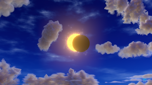 Solar Eclipse, Blender Animation + video link by 8DFineArt