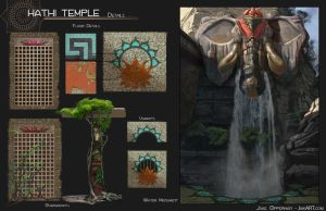 Hathi Temple 03: Details and Call Outs 2 by JaikArt