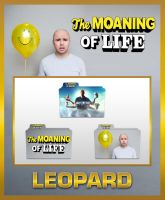 Leopard Karl Pilkington The Moaning Of Life Folder by TMacAG