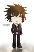 Psycho Pass - Kougami Shinya by CrimsonMoonZ