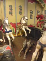 old carousel horse by two-ladies-stocks