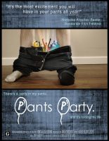 Pant's Party by thingsgobrown
