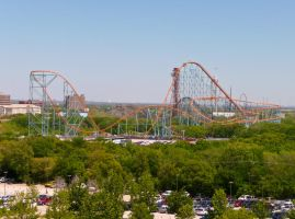 Six Flags Over Texas by Kaibu