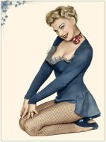 Pinup girl by mitrenga