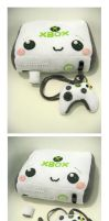 XBOX 360 Plushified by kickass-peanut