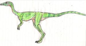 Jurassic Park Compsognathus (aka Compy) by TrefRex
