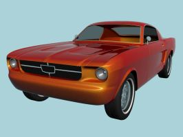 Ford Mustang wip2 by prox3h