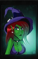 Spooky Abigail Witch by PaulMichaels