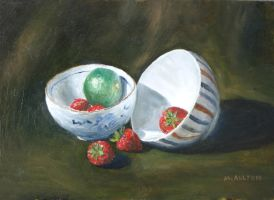 'Rice Bowls with Fruit' by birchley