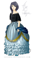 Alice of Valyria - For Eurydicce by Caronta