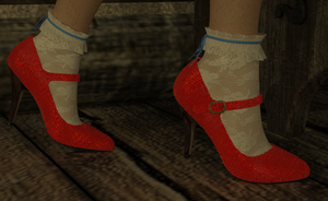 Dorothy's Rubby Slippers by AmethystPendant