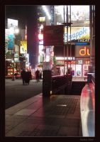 Winter in Times Square by americanina