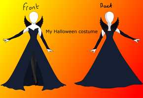 My Halloween costume by HeroHeart001