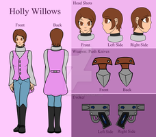 +Persona-D: Holly Willows+ by xXThe-Ice-ReaperXx