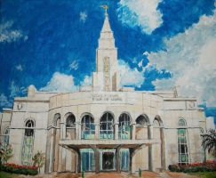 Recife Brazil LDS Temple by Ridesfire