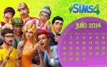 Wall Sims4 July by RainboWxMikA