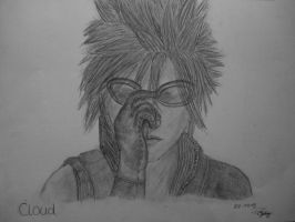 Cloud Strife - Advent Children by twinkelsparky1