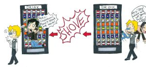 Izzy + Shizzy: Vending Machine by pitchperfect