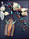 Spirit of Mary - Necklace or Altar piece by andromeda