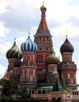 St. Basil's Cathedral by Larocka84