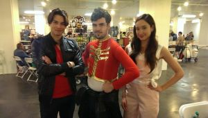 Me With Megaforce Red And Pink by V1EWT1FUL