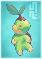 Pokemon: Turtwig by pixel-sketch