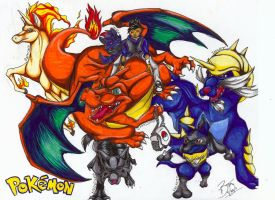 Pokemon Group Pic by Your-Best-Fatality