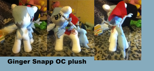 Ginger Snapps Plush made for TheAOGS by AshleyFluttershy