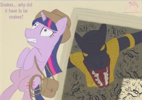 Twilight is bad at adventuring by Silverthe-Dragon