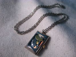 Steampunk Inspired Necklace by mrskupe