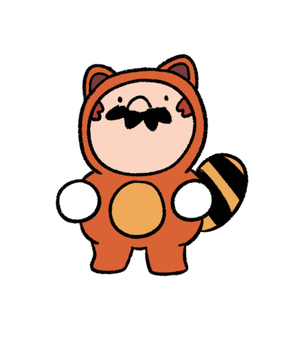 Tanooki Life by WaywardDoodles