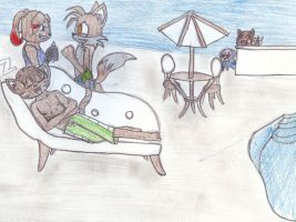 Pool Day by rainbow-narwal