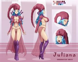 Juliana char-sheet by StormFedeR