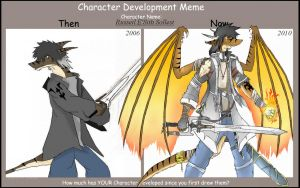 Char. Development Meme  - Rah. by RA-Sols