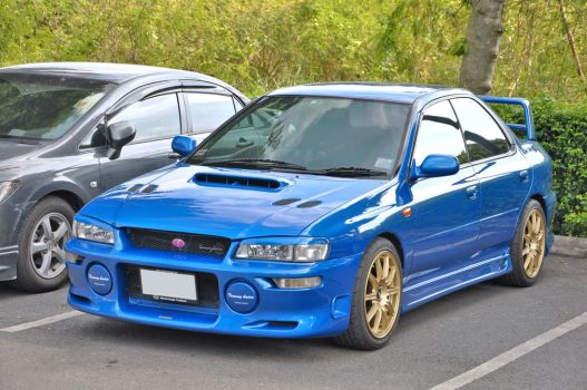 Another Blue Subie by zynos958