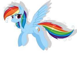 Rainbow Dash by LaceFelora