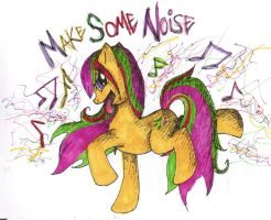 MAKE SOME NOISE by BunnybeIIe