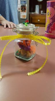 V-day Dragon in a jar (Front view 2) by Kitty1617