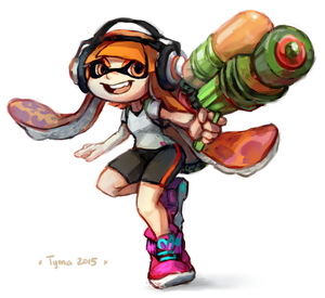 Splatoon! by Tymkiev