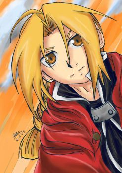 edward Elric - Determination by raidenokreuz76