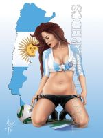 Argentina 2010 FIFA World Cup by tony-tzanoukakis