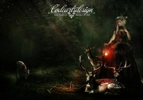 QUEEN OF THE DEER by codeartworks