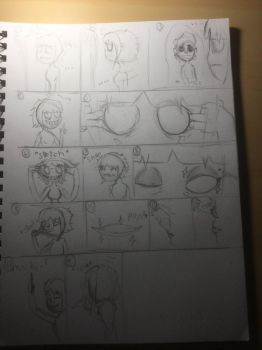 (Part 2) dorodere.....why!? (Sketch) by LilyTheDorodere
