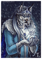 Gem of Winter (ACEO) by Art-of-Sekhmet