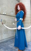 Brave: Merida Full by TresWildCosplay